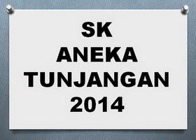 Daftar Penerima SK Aneka Tunjangan Fungsional dan Kualifikasi 2014
