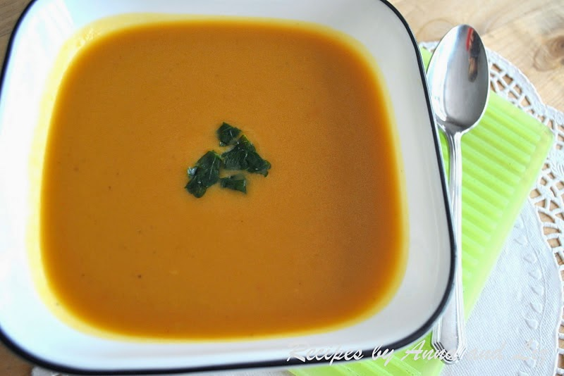 Creamy Butternut Squash & Potato Soup