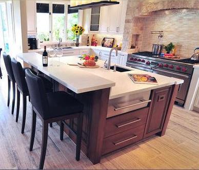 Cocinas integrales cocinas integrales modernas modelos - Revestimiento para cocinas ...