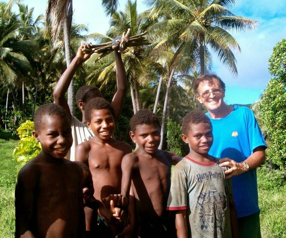 Misionero en Vannuatu