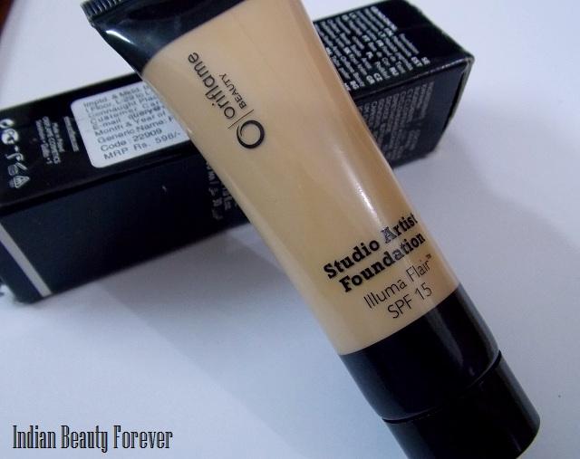 oriflame studio artist olive beige foundation