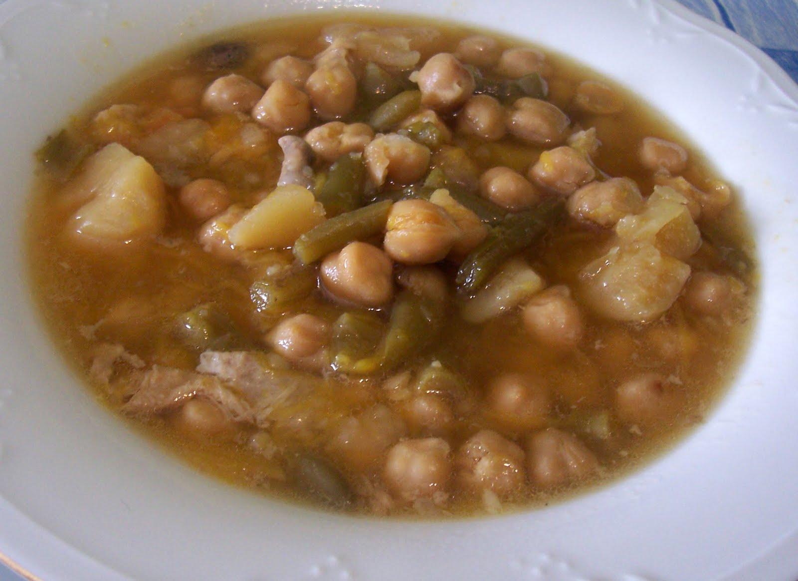 Olla cocido de garbanzos receta asopaipas recetas de - Preparacion de garbanzos cocidos ...