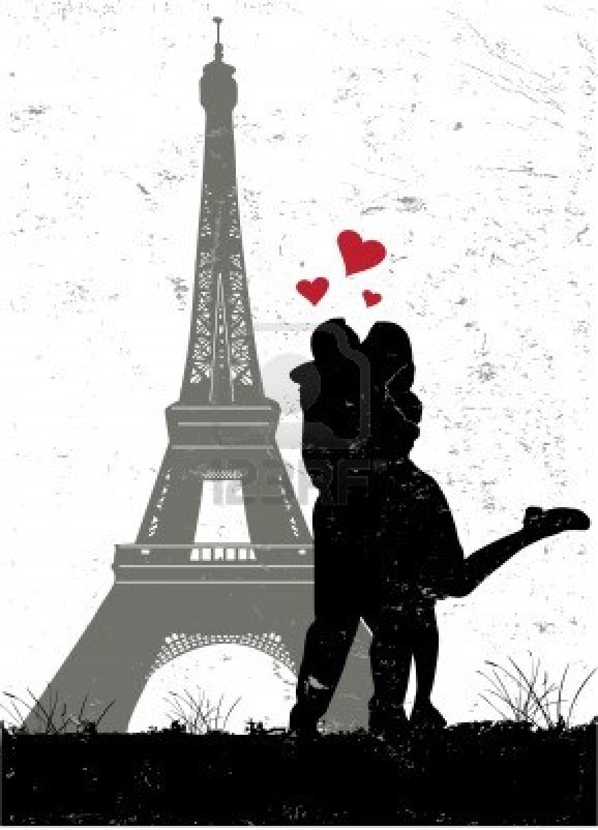 I Love Paris Wallpaper cartoon : Paris: Paris In Love