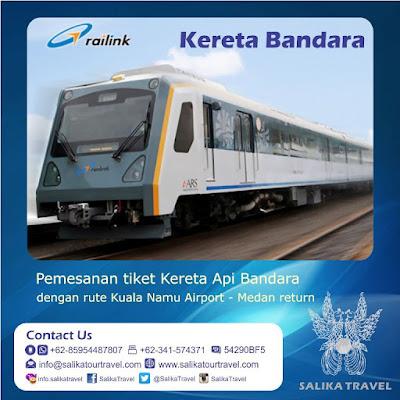 Pesan Tiket Kereta Bandara Railink ARS di Salika Travel