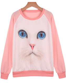 http://www.shein.com/Pink-Long-Sleeve-Cat-Print-Loose-Sweatshirt-p-182350-cat-1773.html?utm_source=thecherryblossomworld.blogspot.com&utm_medium=blogger&url_from=thecherryblossomworld