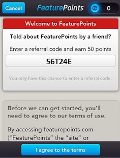 Feature Points referral code