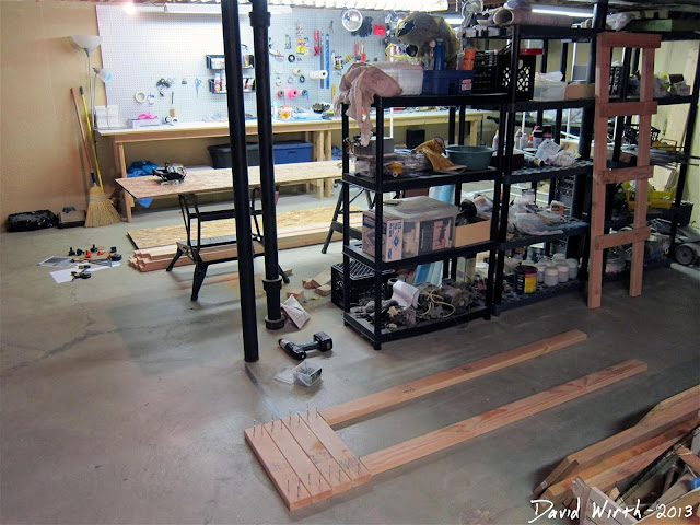 storage totes, shelf, how to build, make, plans, wood