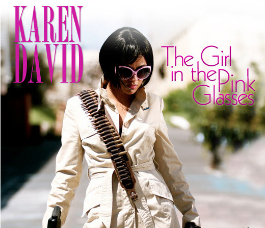 The Girl In The Pink Glasses by Karen David