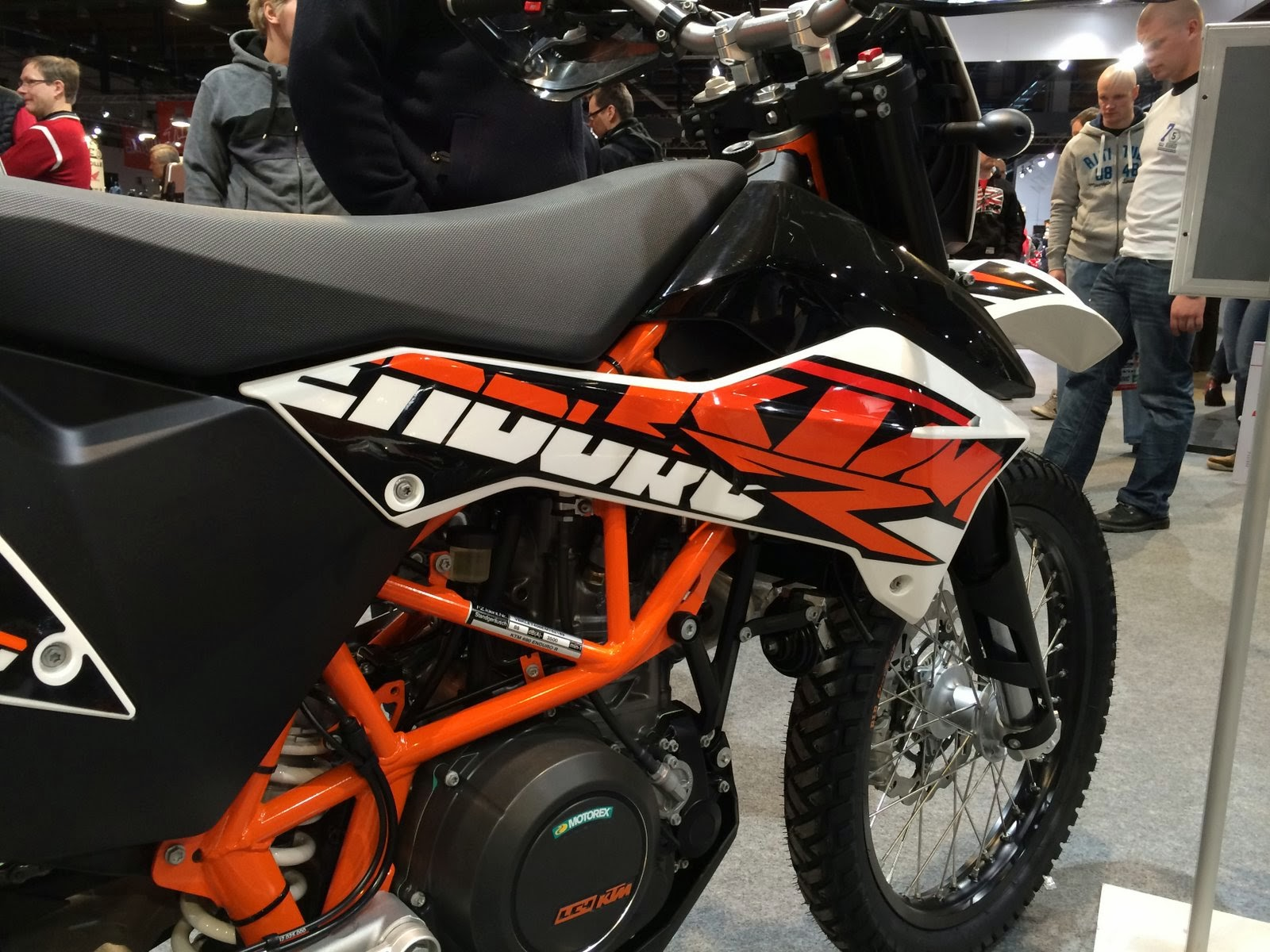 2014 KTM 690 Eduroro R graphics