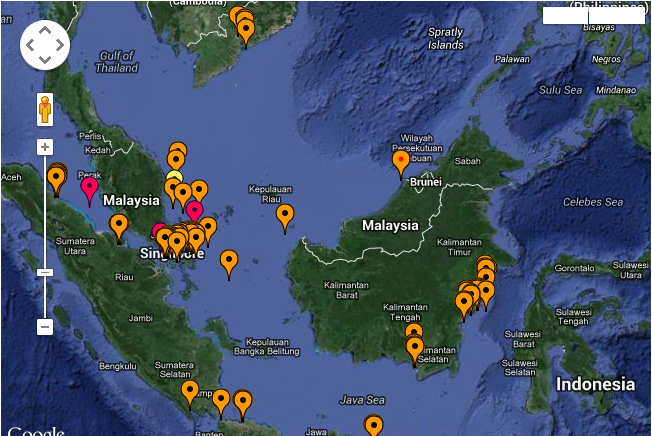 Piracy reported at Malaysia and Indonesia
