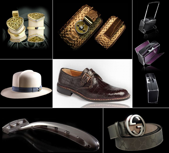 Ngozi gold most expensive fashion accessories for the man for Men s bathroom accessories