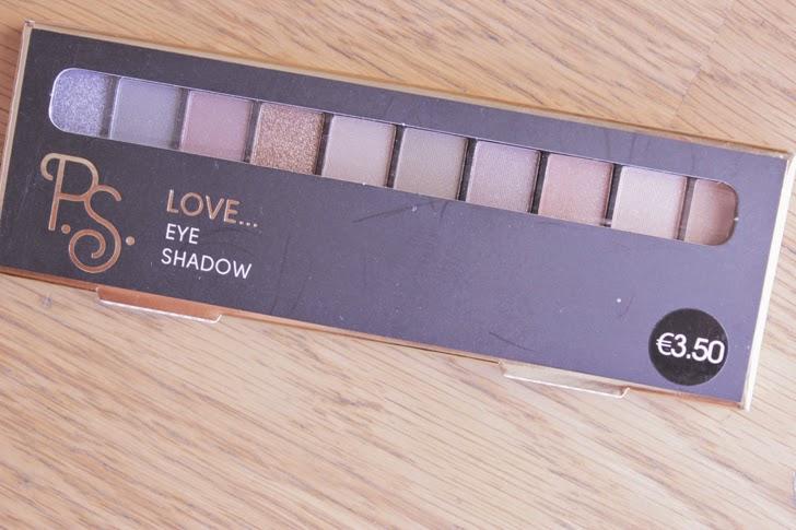 Palete de sombras Primark