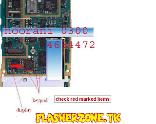 Nokia n73 keypad display  jumper diagram hardware solution