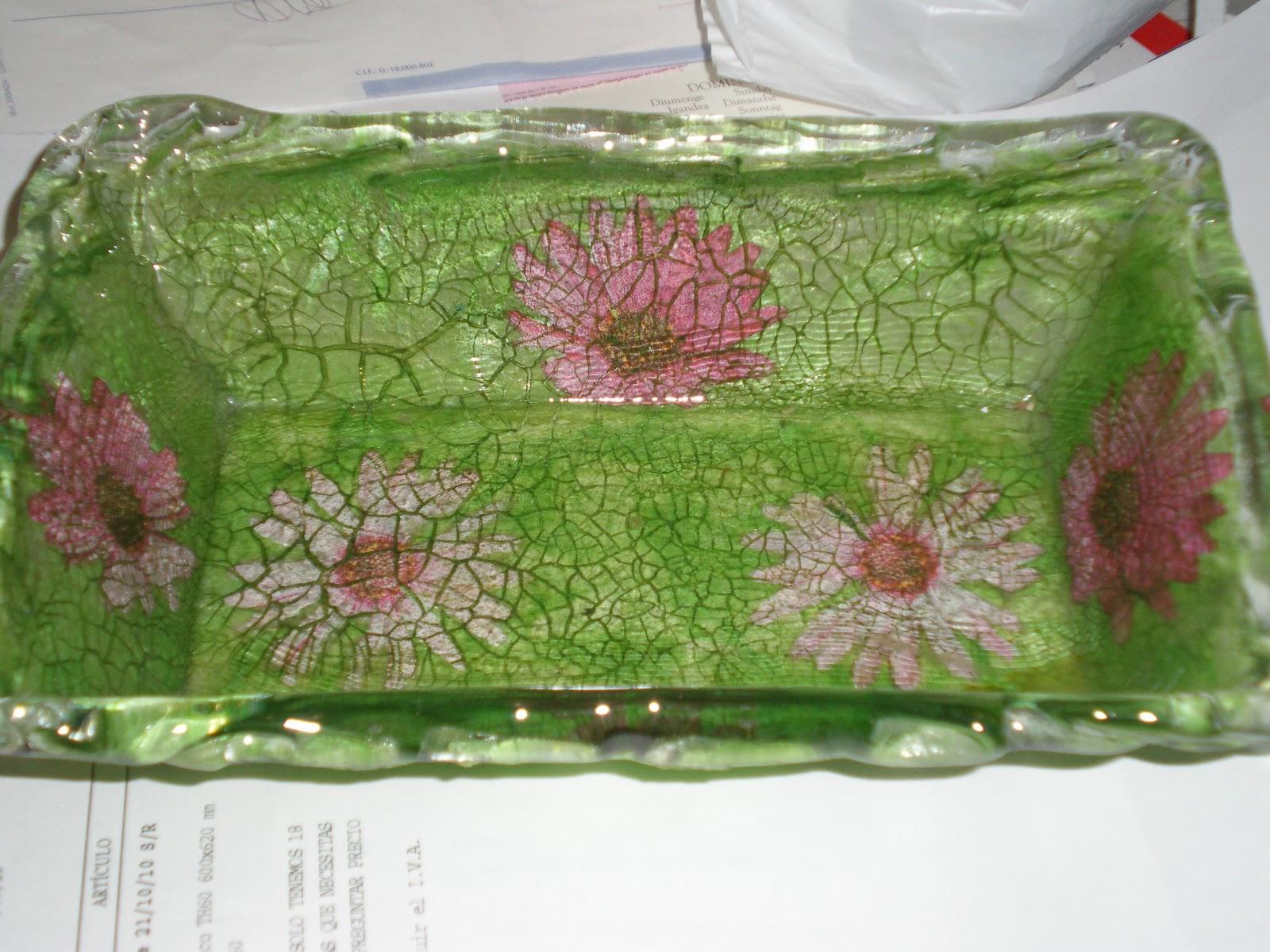 Admlaserrezuela bandejas de cristal decoradas - Bandejas de cristal ...