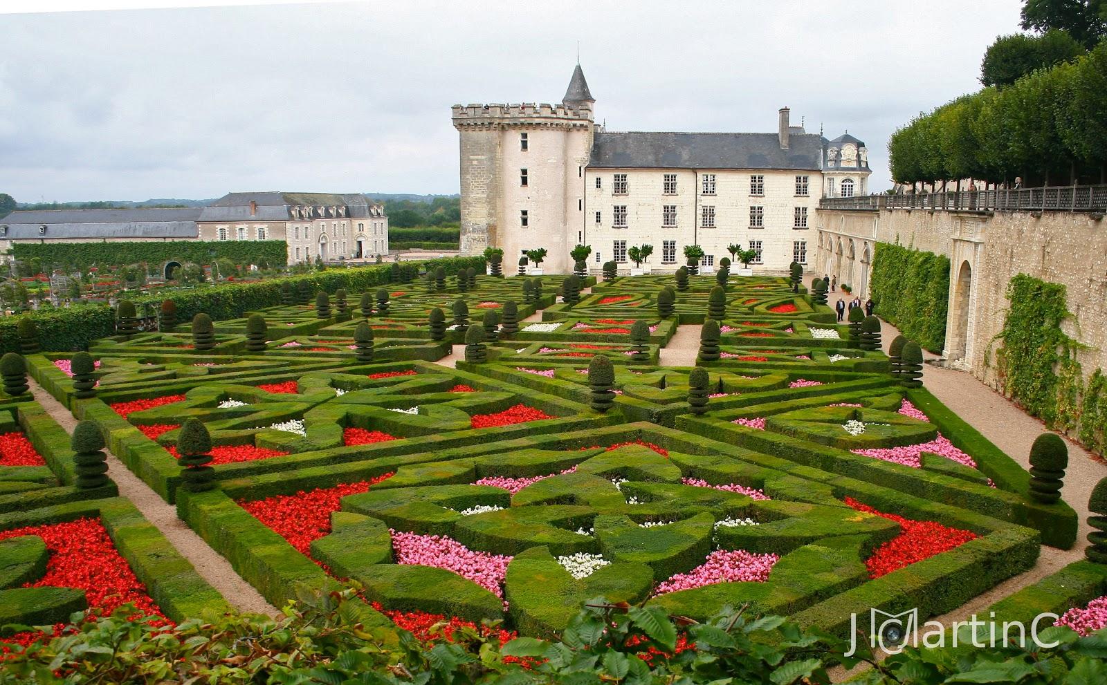 Alma de viaje valle del loira la ruta de los castillos - Jardines increibles ...