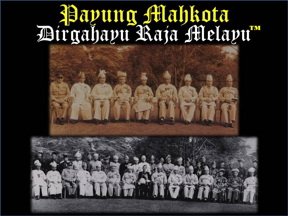 Payung Mahkota Dirgahayu Raja Melayu