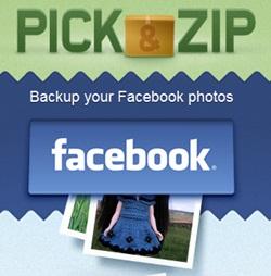 Cara Download Semua Album Foto di Facebook dengan Picknzip | Khamardos Blog