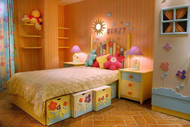 Construindo minha casa clean quarto dos sonhos de meninas - Dormitorio infantil nina ...