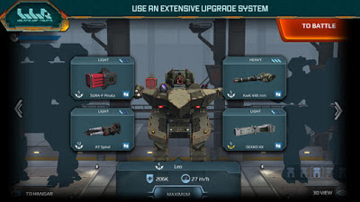 Walking War Robots V1.0.1 MOD Apk + Data Terbaru