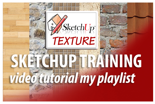 sketchup training video tutorial