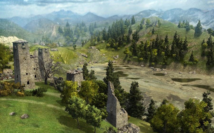Карта «Перевал»