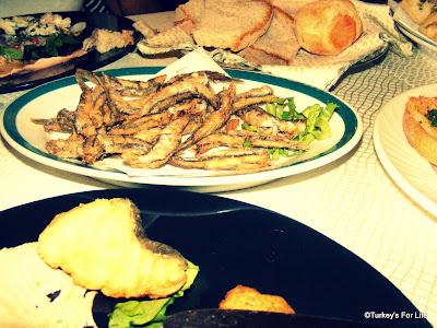 Seafood Antipasti, Italy