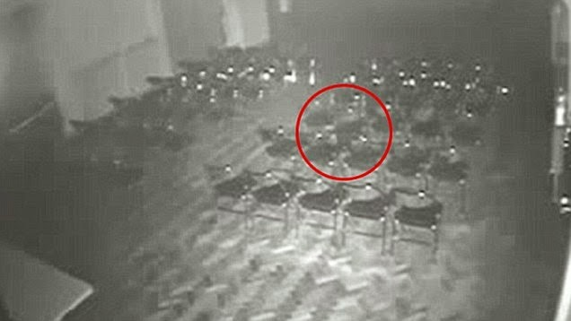 Unexplained Ghost CCTV Footage - Brookside Theatre, Romford