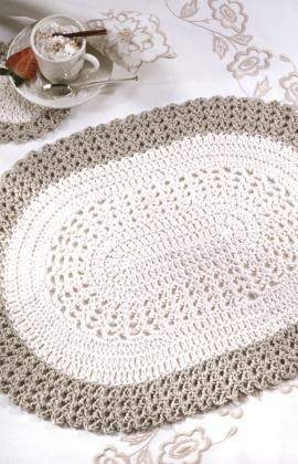 Celtic Crochet Place Mat - Free Patterns - Download Free