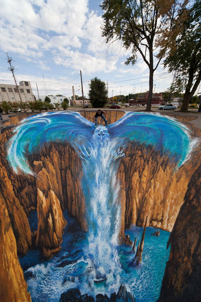 Hd Wallpapers 3d Road Painting Wallpapers