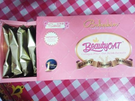 beautyoat, babeskin365, beautyoat babeskin365, babeskin365 beautyoat, oat untuk kurus, kolagen untuk cantik, minuman oat perasa vanila