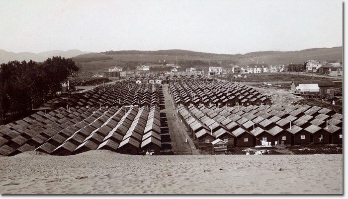 ... the human dimension of being homeless, surviving the elements, and having limited supplies. 5,300 of these shelters were built in placed in the Richmond ...