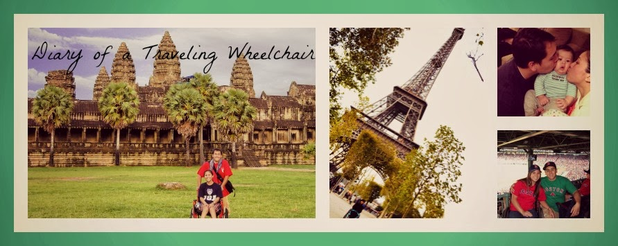 Diary of a Traveling Wheelchair