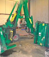 hedgecutter hydraulic repair