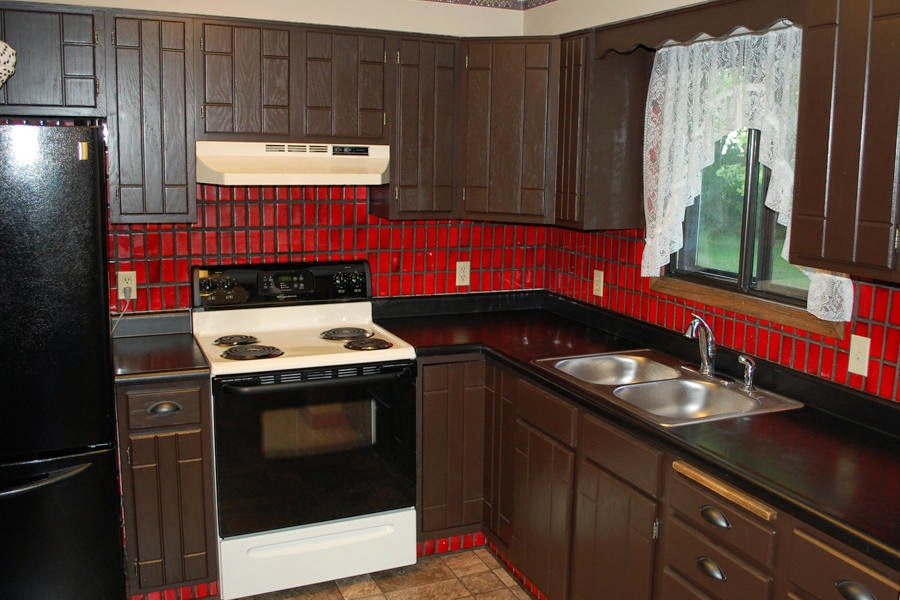 The Dabbling Crafter Diy Sunday Ugly House Subway Tile Backsplash