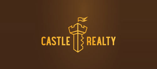 Castle Realty logo design