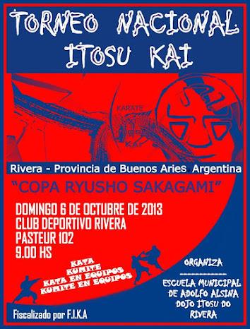 """Torneo Nacional """"Copa Ryusho Sakagami"""" 06/10/2013"""