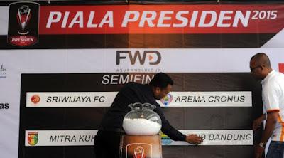 Hasil Drawing Semifinal Piala Presiden 2015