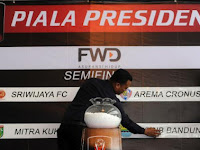 Hasil Drawing Jadwal Semifinal Piala Presiden 2015
