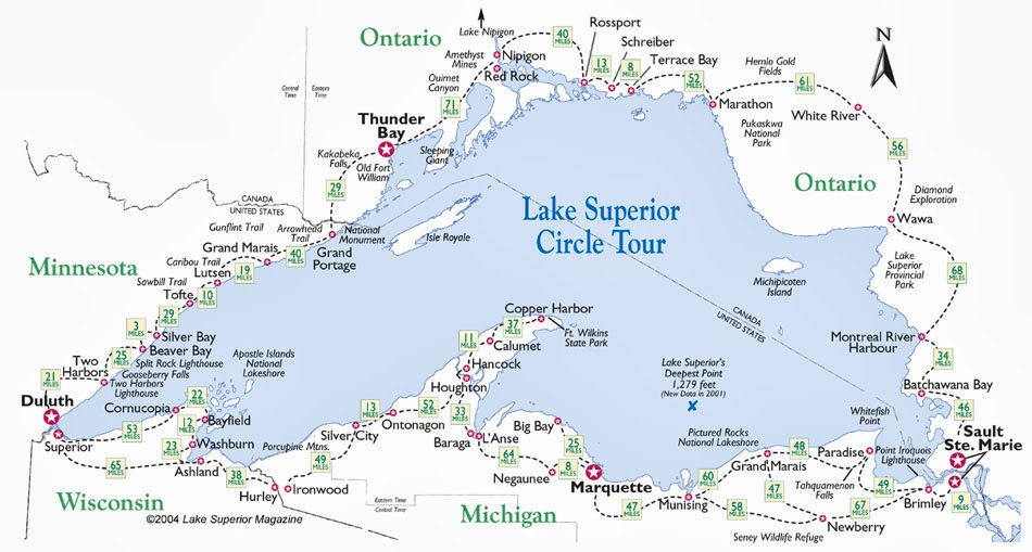 Ohio thoughts lake superior circle tour canada it is a 1300 mile circle tour by highway around the worlds largest and most famous freshwater lake with scenic shorelines sandy beaches and towering freerunsca Choice Image