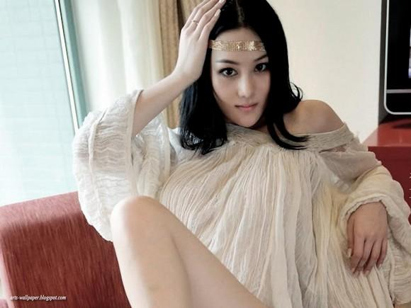 Girls Beauty Wallpaper Zhang Xinyu 39