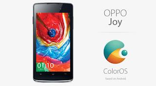 Spesifikasi dan Harga Oppo Joy 3