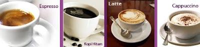Jenis-jenis minuman kopi
