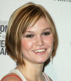julia styles hair cut
