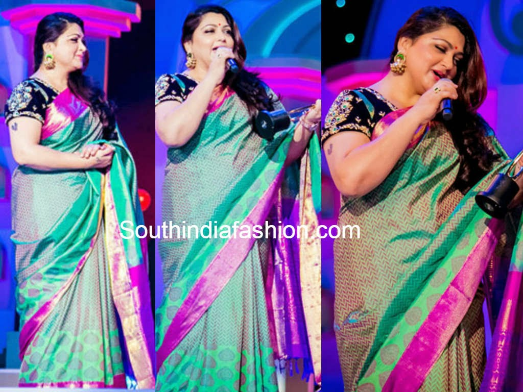 kushboo at siima awards 2014