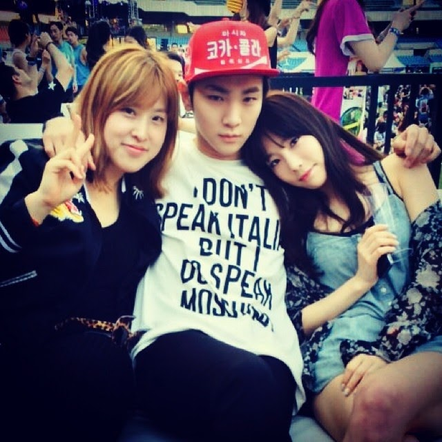 Shinee key and seohyun dating