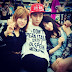 SNSD's TaeYeon snapped an adorable photo with SHINee's Key at the 2014 UMF