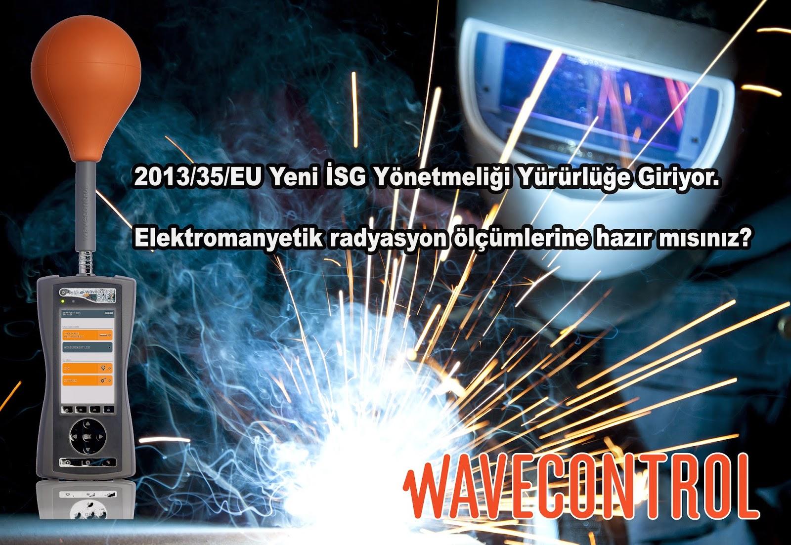 elektromanyetik alan şiddeti ölçümü wavecontrol