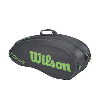 bag Wilson TOUR MOLDED 9 pack černo-zelený BLADE 2015