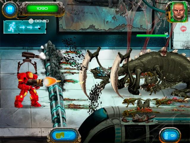 Tentara vs Alien - Permainan Perang