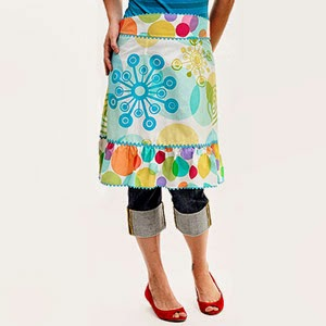 Easy Retro Apron Pattern